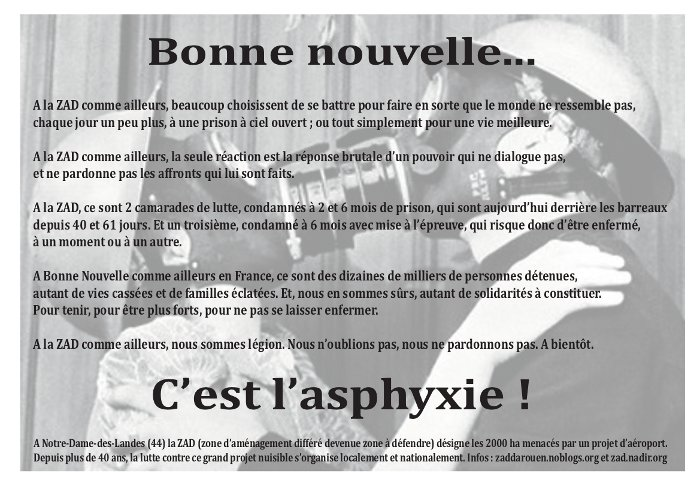 tract samedi 26 janvier Rouen
